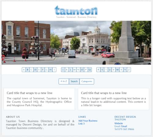 Taunton Business Directory